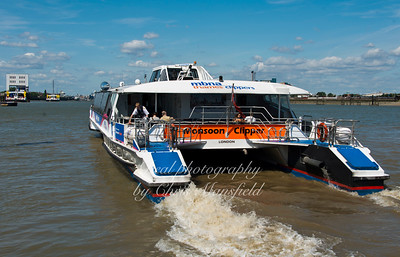 July 18th 2015. Thames Clipper