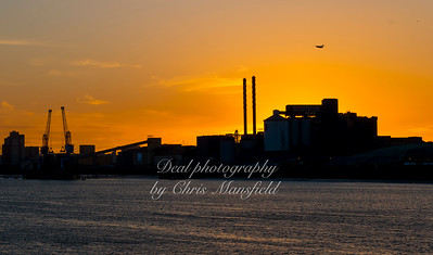 July 25th 2016 Sunset over Tate & Lyle