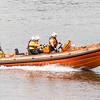 June 28th 2016. RNLI lifeboat at Woolwich