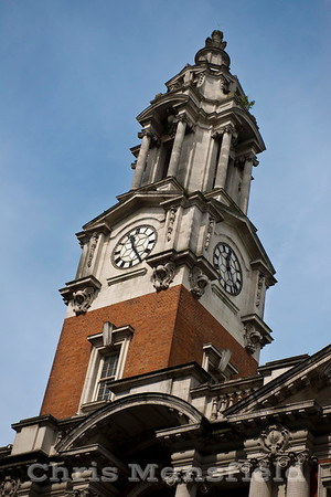April 26th 2014.. Town Hall clock tower