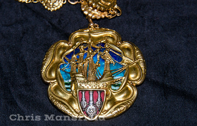 1901 Woolwich Mayors badge of office