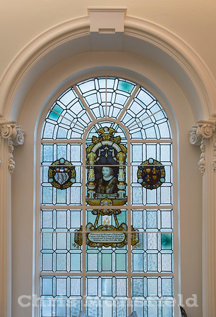 Oct' 26th 2016.  Window in the Mayor's parlour