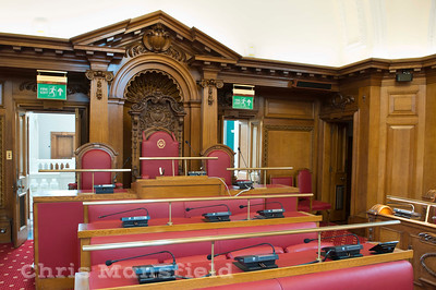 March 17th 2015 Council chamber refurbed with new upholstery