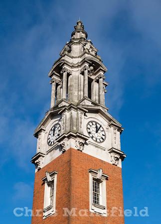 Jan' 10th 2018.  Town hall clock