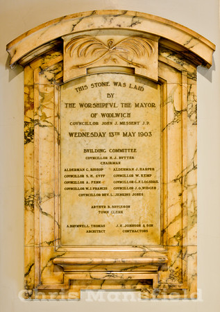 July 1st  2013 .. Town Hall foyer plaque