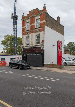 Sept' 8th 2018 .. 39 Artillery place now stands alone in Artillery place ..  It was built in 1904-05 for David Still, a chemist... The Vauxhall garage next door was previously Herwin canny garage..  ( I bought a new Triumph spitfire there in 1971 )