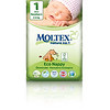 8803299	MOLTEX ökomähkmed Nature No.1 Newborn 2-4kg (suurus 1) 23tk