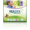8803799	MOLTEX ökomähkmed Nature No.1 XL 16-30kg (suurus 6) 22tk