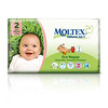8803399	MOLTEX ökomähkmed Nature No.1 Mini 3-6kg (suurus 2) 42tk