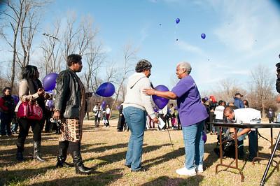 M O M-O Annual Balloon Release @ Frazier Park 1-1-12 066