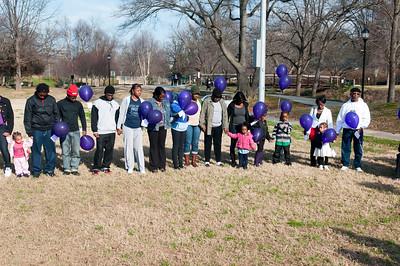 M O M-O Annual Balloon Release @ Frazier Park 1-1-12 041