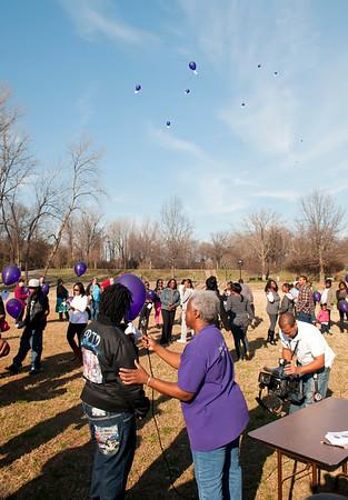 M O M-O Annual Balloon Release @ Frazier Park 1-1-12 057
