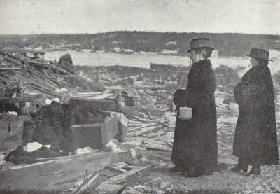 1917: The Halifax Explosion, December 6th.