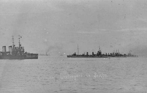 1919: The German Fleet, Scapa Flow.