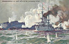 BOMBARDMENT OF PORT ARTHUR BY JAPANESE FLEET - The Japanese Navy bombarded Port Arthur on a number of occasions but naval gunnery was not that effective due to the geography of the port whilst the bombarding ships were vulnerable to fire from the Russian batteries sited on the hills - posted April 12th, 1905.