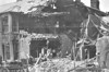 APRIL 25TH, 1916 - LOWESTOFT - This house in Windsor Road was fairly comprehensively destroyed by the German shelling. Windsor Road is only about 150 yards behind the shoreline. Miraculously, there were only 4 dead and 19 wounded among the civilian population.