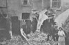 APRIL 25TH, 1916 - LOWESTOFT - The Salvation Army Barracks in Hervey Street, just north of the railway line from Lowestoft Central, was quite badly damaged.