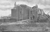 APRIL 25TH, 1916 - LOWESTOFT - These cottages in Carlton Road, leading off London Road South, were pretty well destroyed.