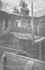 APRIL 25TH, 1916 - LOWESTOFT - The ruined house in Sandringham Road, just north of the harbour, where two men and a women were killed.