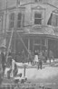 APRIL 25TH, 1916 - LOWESTOFT - Damage to shops and properties on the corner of Freemantle Road and London Road South.