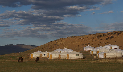 Three Camel Lodge , Gobi Desert, Mongolia.