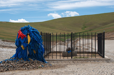 Ovoo at the Phallic Rock - Karakorum, Monglia.
