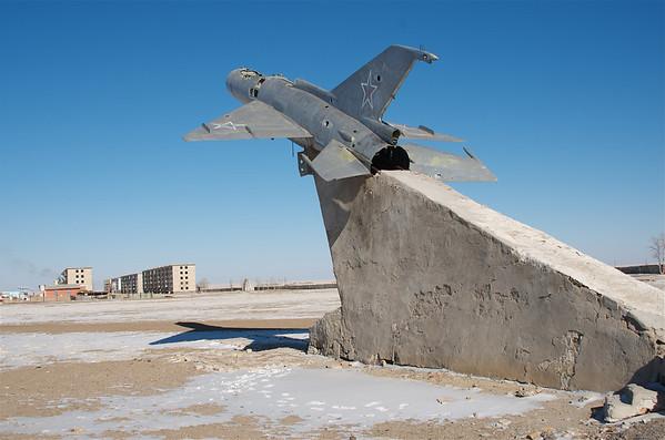 Ruins of an abandoned Soviet Air Base, Mongolia.