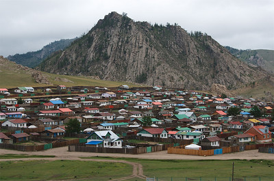 The Suburbs of Tsesterleg, Mongolia.