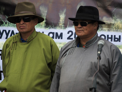 "The ""Gobi Blues Brothers"""