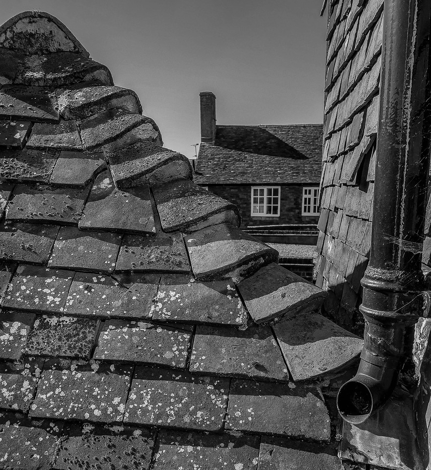 Rooftops of Kent, Tenterden, England