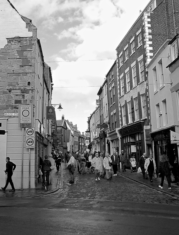 Bridge & Church Streets, Whitby, England 2