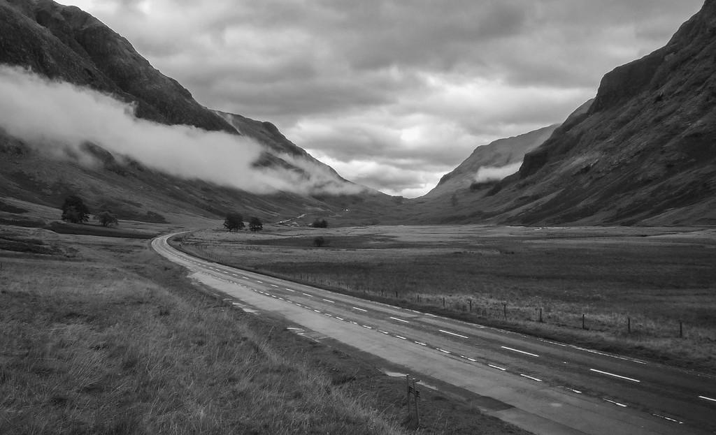 The A82, Glencoe, Scotland