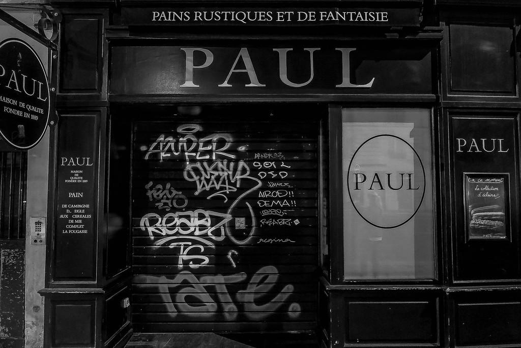 Grafitti Paul, Paris