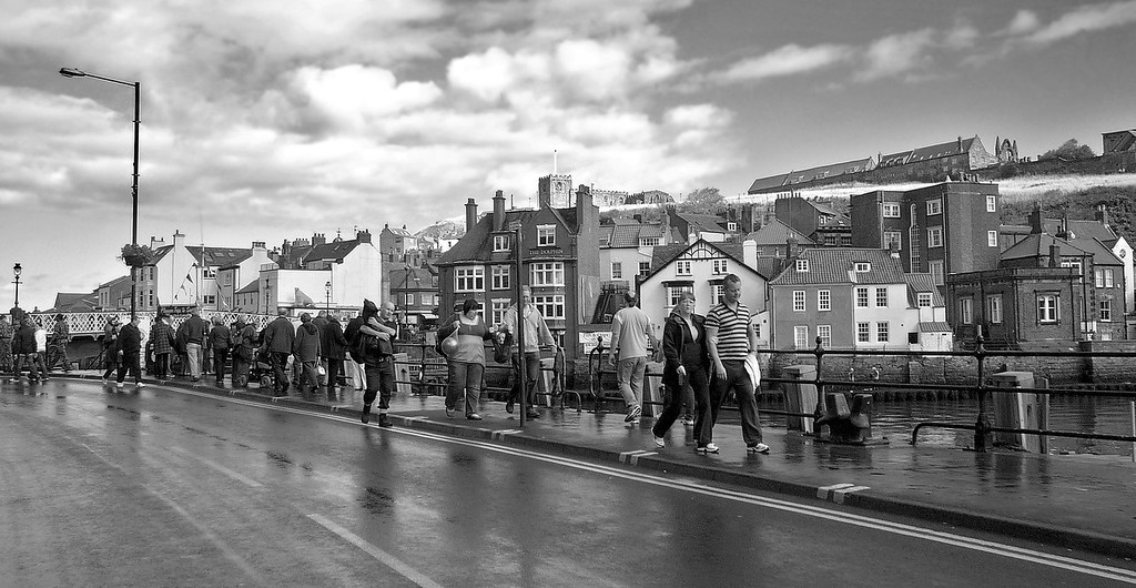 Bridge Street, Whitby, England