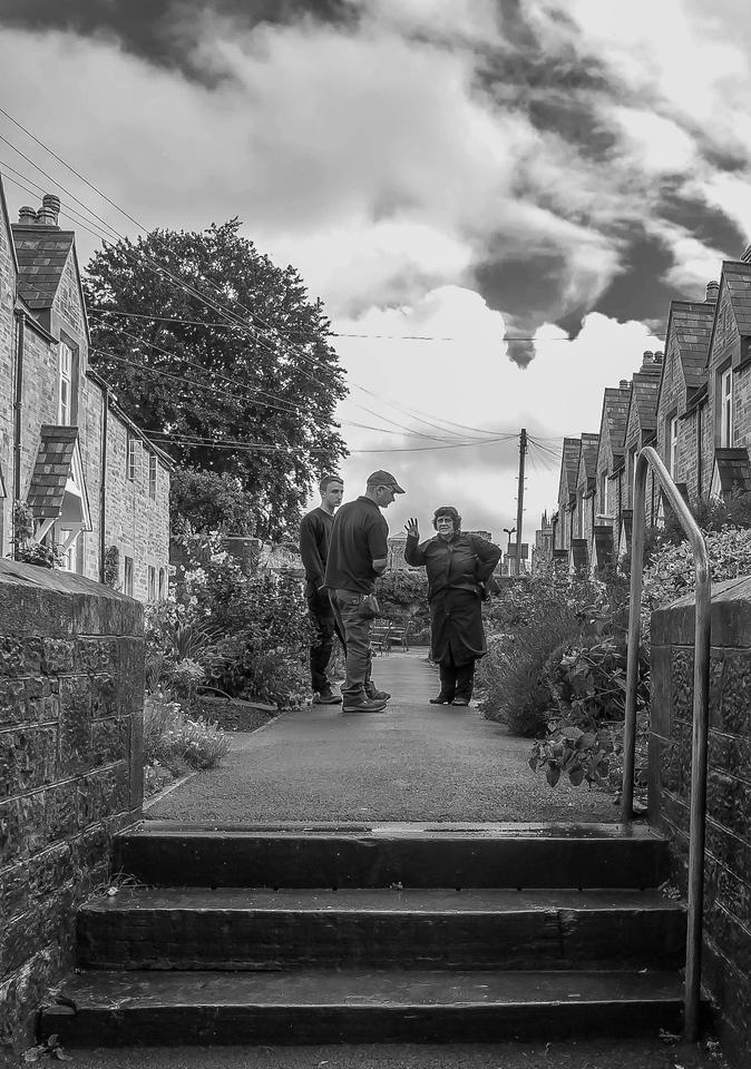 Men at Work, Wells, Somerset, England