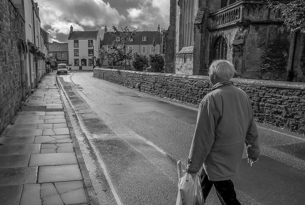 Shopping, Wells, Somerset, England