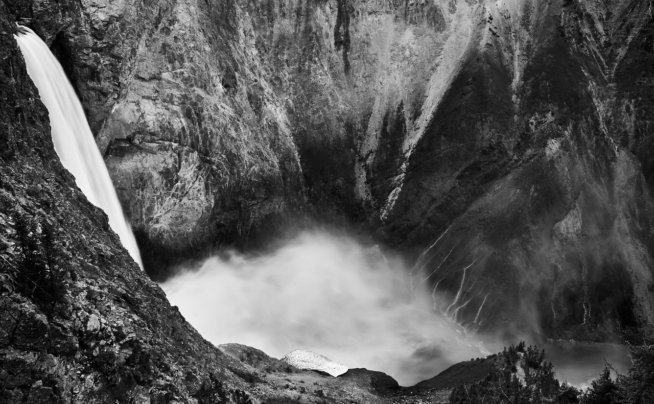EAGLE'S VIEW ~ YELLOWSTONE FALLS