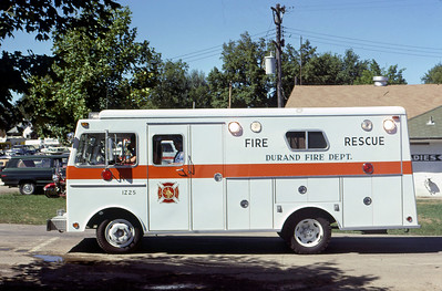 1978  MONROE FIRE SCHOOL  DURAND FIRE RESCUE  SQUAD 1225    JDS PHOTO