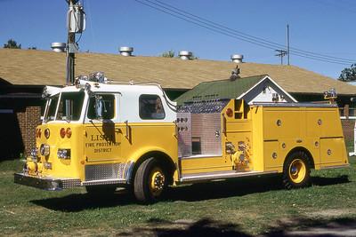 LISLE WOODRIDGE FPD  ENGINE  1978  PIRSCH   1250-500  AT 1978 MONROE FIRE SCHOOL   DON FEIPEL PHOTO