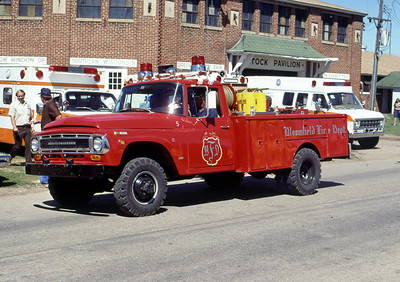 1978  MONROE FIRE SCHOOL  BLOOMFIELD FD WI  BRUSH  5  IHC 4X4 -    JDS PHOTO