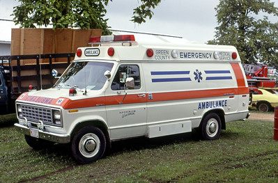 1979  MONROE FIRE SCHOOL  GREEN COUNTY EMS  FORD E350 -