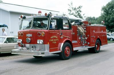 1981  MONROE FIRE SCHOOL  MONROE FD WI  ENGINE 759  PIRSCH    JDS PHOTO