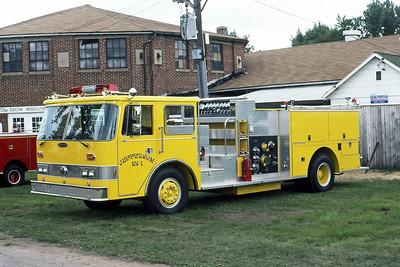 1981  MONROE FIRE SCHOOL  JEFFERSON FD WI  ENGINE 1  PIERCE ARROW (O)    JDS PHOTO