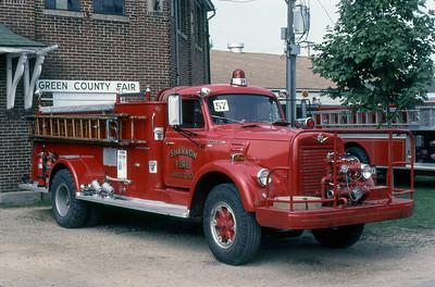 SHANNON FPD  ENGINE  IHC V190 - ALEXIS  1982  MONROE FIRE SCHOOL