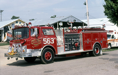 MOUNT HOREB FD  ENGINE 1  1973  MACK CF - 1987  3-D   1250-1000    1983  MONROE FIRE SCHOOL