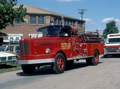 1984  MONROE FIRE SCHOOL  WOODFORD FD WI  ENGINE 1  FWD    JDS PHOTO