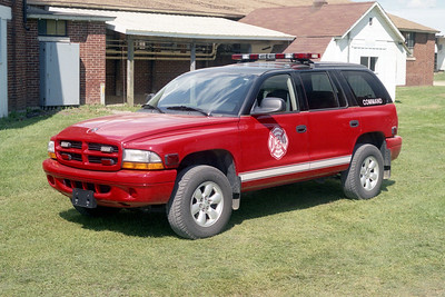 MONROE FD  COMMAND CAR  DODGE 4X4  MONROE FIRE SCHOOL 2004