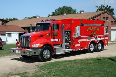 SHABBONA TANKER 2545  2008 MONROE FIRE SCHOOL