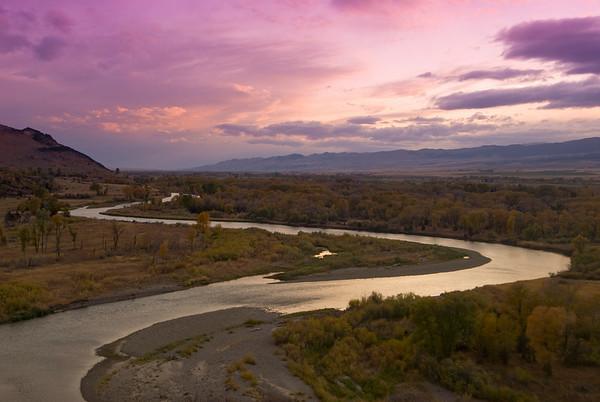 Montana Fly Fishing Scenics - Jim Klug Photos
