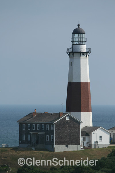 Montauk's lighthouse, on the Eastern tip of Long Island, NY. Commisioned by George Washington